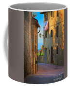 San Gimignano Alley Coffee Mug