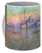 San Giorgio Maggiore Venice Coffee Mug by Claude Monet