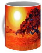 San Mateo Oak In Bright Sunset Coffee Mug