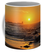 Sancti Petri Castle At Sunset San Fernando Cadiz Spain  Coffee Mug