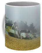 Sand And Huts And Fog Coffee Mug