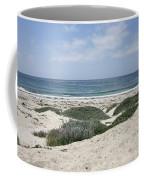 Sand And Sea Coffee Mug by Carol Groenen