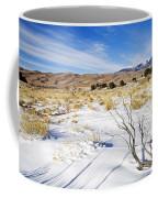 Sand And Snow Coffee Mug