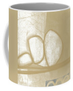 Sand And Stone 1- Contemporary Abstract Art By Linda Woods Coffee Mug by Linda Woods