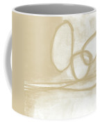 Sand And Stone 6- Contemporary Abstract Art By Linda Woods Coffee Mug