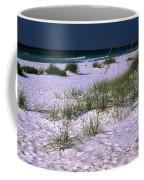 Sand Beach And Grass Coffee Mug