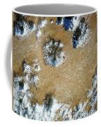 Sand Dune With Snow Coffee Mug