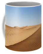Sand Dunes In United Arab Emirates Desert Coffee Mug