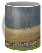 Sand Hill Crane Migration Coffee Mug