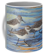 Sand Pipers Coffee Mug