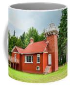 Sand Point Lighthouse - Baraga Coffee Mug