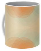 Sand Semi Circle Background Horizontal Coffee Mug
