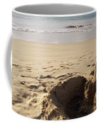 Sandcastle On The Beach, Hapuna Beach Coffee Mug