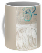 Sandcastles- Abstract Painting Coffee Mug