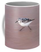Sanderling On The Run Coffee Mug