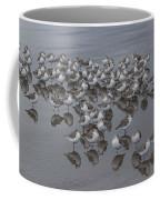 Sanderlings On The Shore Coffee Mug