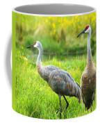 Sandhill Crains Coffee Mug