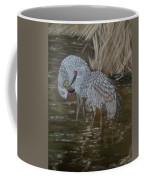 Sandhill Crane Couple Coffee Mug
