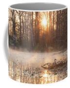 Sandhill Crane On Nest Coffee Mug