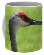 Sandhill Crane Profile Coffee Mug