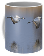 Sandhill Crane Returning Coffee Mug