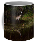 Sandhill Cranes And Chicks Coffee Mug