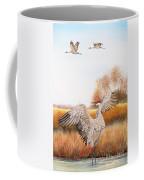 Sandhill Cranes-jp3161 Coffee Mug