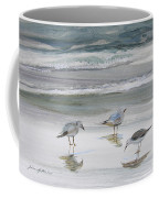 Sandpipers Coffee Mug by Julianne Felton