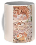 Sandstone Colors In Wash 3 - Valley Of Fire Coffee Mug