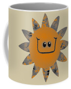 Sandstone Daisy Coffee Mug