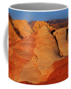 Sandstone Formations In Valley Of Fire State Park Nevada Coffee Mug by Dave Welling