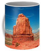 Sandstone Monolith, Courthouse Towers, Arches National Park Coffee Mug