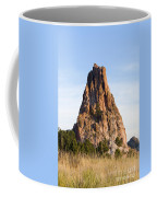 Sandstone Spires In Garden Of The Gods Coffee Mug