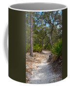 Sandy Path In Hunting Island South Carolina Coffee Mug