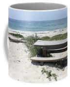 Sandy Picnic Table Coffee Mug