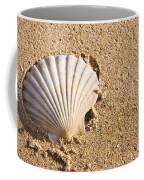 Sandy Shell Coffee Mug by Jorgo Photography - Wall Art Gallery