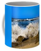 Sandy Surf Splash Coffee Mug