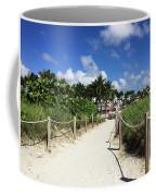 Sandy Trail Miami Florida Coffee Mug