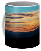Sangre De Cristo Mountain Sunst Coffee Mug
