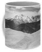 Sangre De Cristo Mountains And The Great Sand Dunes Bw Coffee Mug