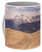 Sangre De Cristo Mountains And The Great Sand Dunes Coffee Mug by James BO  Insogna
