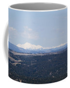 Sangre De Cristo Mountains From Bald Mountain Colorado Coffee Mug