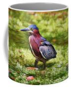 Sanibel Green Heron Coffee Mug