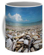 Sanibel Island Sea Shell Fort Myers Florida Broken Shells Coffee Mug
