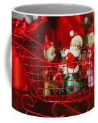Santa And His Elves Coffee Mug