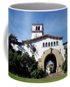 Santa Barbara Courthouse -by Linda Woods Coffee Mug