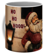 Santa Claus Christmas Card Coffee Mug