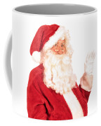 Santa Claus Waving Hand Coffee Mug