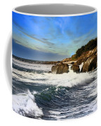 Santa Cruz Coastline Coffee Mug