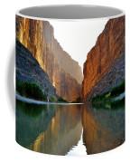 Santa Elena Canyon Coffee Mug